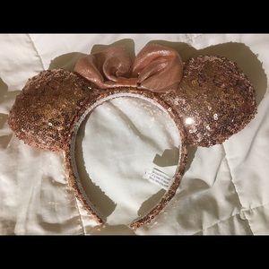 Disney Ears Rose Gold sequin